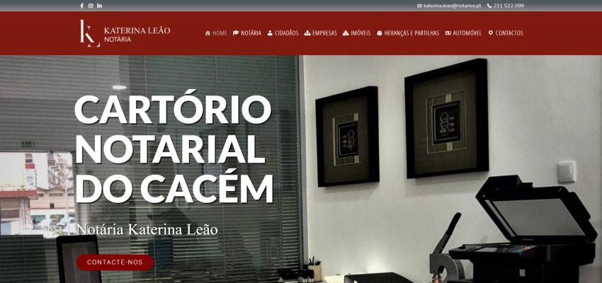 Cartório Notarial do Cacém - Katerina Leão
